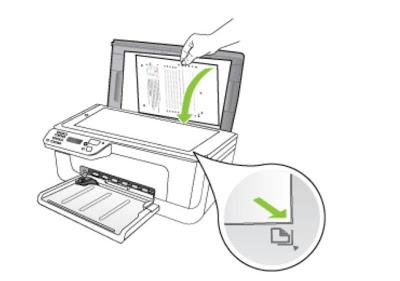 как положлить бумагу на сканер