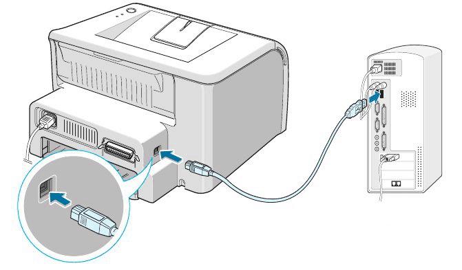 подключить сканер через usb