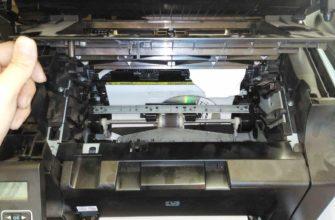 принтер не печатает а ставит в очередь