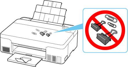 посторонние предметы в принтере
